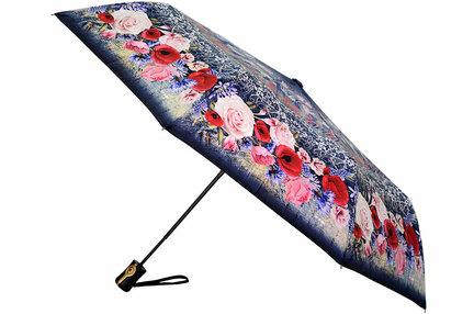 Женский зонт Три Слона ( полуавтомат ) арт. L3881-03