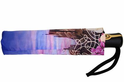 Женский зонт Три Слона ( полуавтомат ) арт. L3881-10